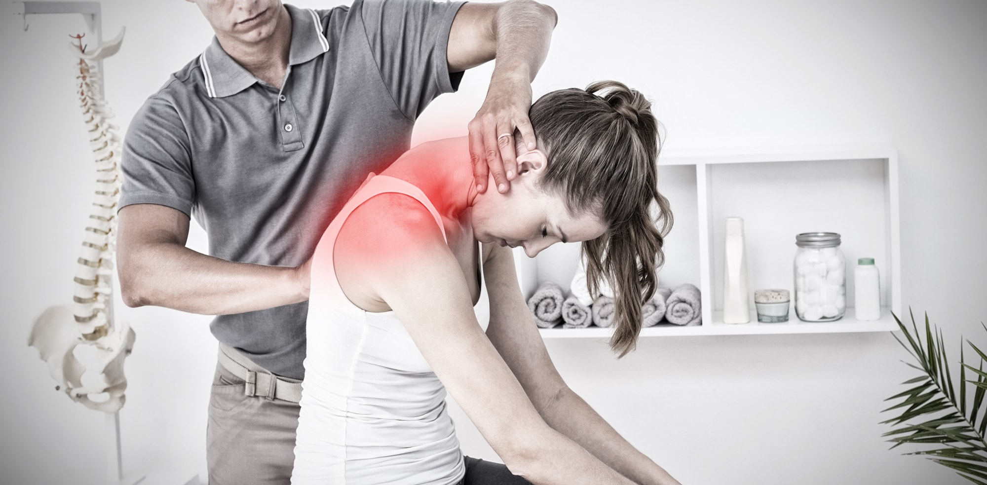 Are you suffering with neck pain due to bad posture or an injury?